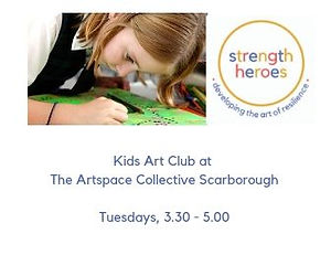 Toddler Art with Strength Heroes Ages 2-