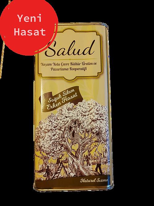 Salud Naturel Sızma Zeytinyağı 5 lt - YENİ HASAT