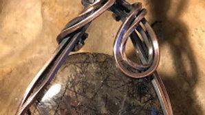 Black & Copper Rutile Quartz