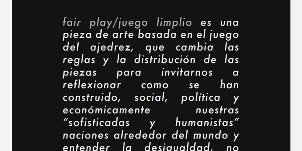 """""""Juego limpio"""" de Lalo Murúa"""" en"""