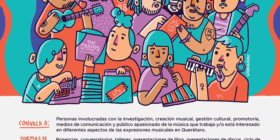 """""""Polifonías"""" Encuentro de músicas en Qro"""
