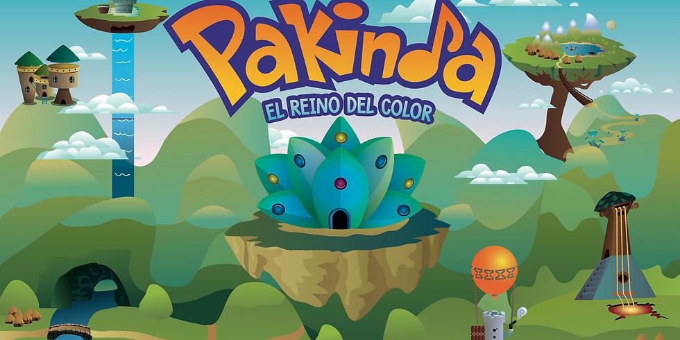 """Cuenta Cuentos Musical Pakinda """"El Reino del Color"""""""