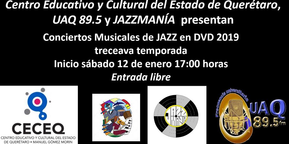 Conciertos en DVD por Jazzmanía