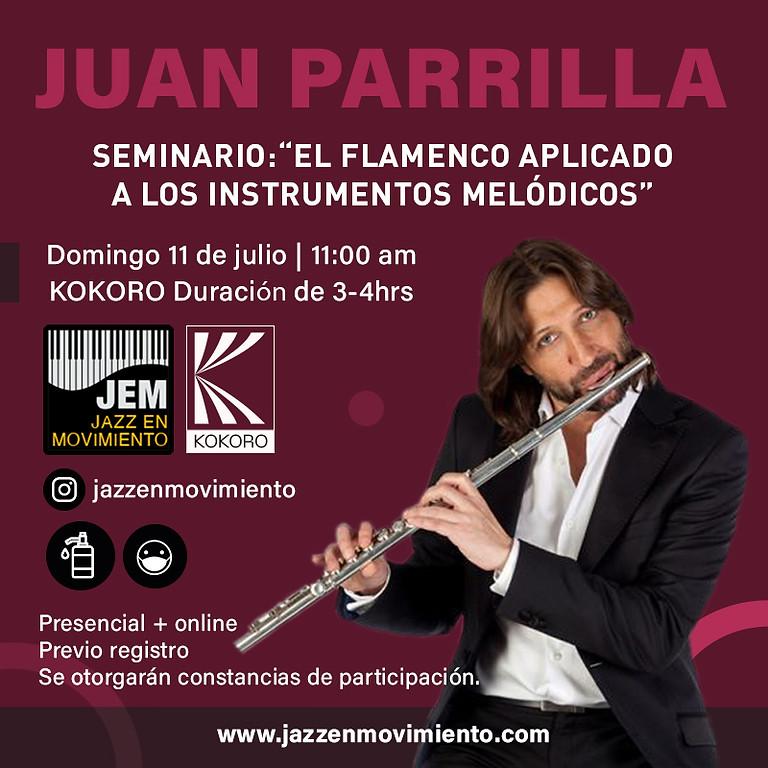 Máster class de Flamenco (oyentes) con Juan Parrilla