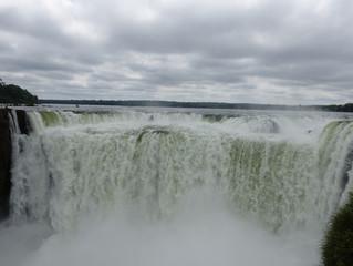 Die Wasserfälle in Iguazú