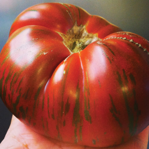 Chocolate Stripes Tomato - 50 Seeds