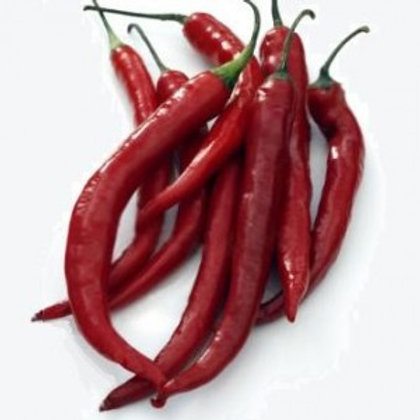 Cayenne Long Red Slim Pepper - 50 Seeds