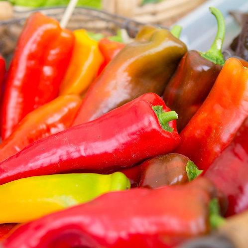 Hungarian Hot Wax Pepper- 50 Seeds
