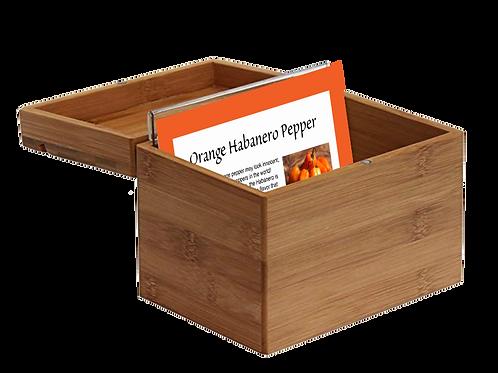 Seed Card Box