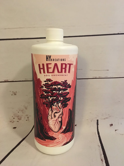 Heart 32oz Bottle - High Quality Soil Amendment