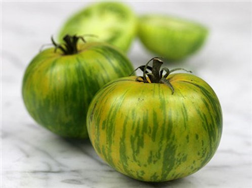 Green Zebra Tomato - 25 Seeds