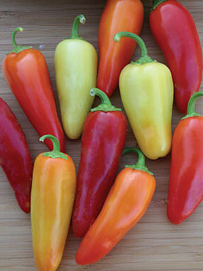 Santa Fe Grande Hot Pepper - 50 Seeds