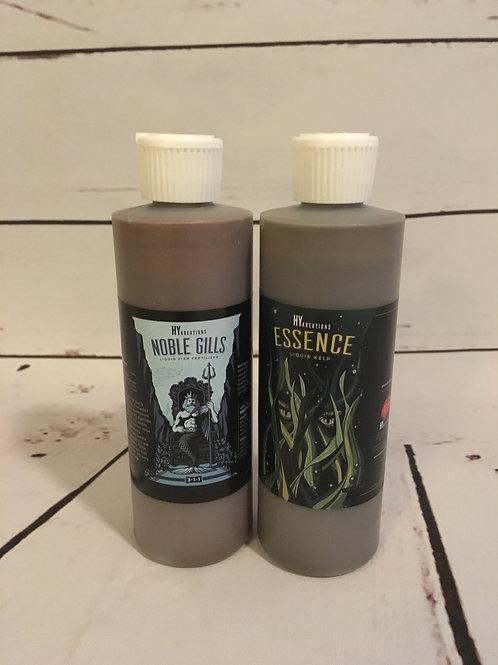 Mini Foliar Feed Package - Noble Gills 8oz Bottle + Essence 8oz Bottle