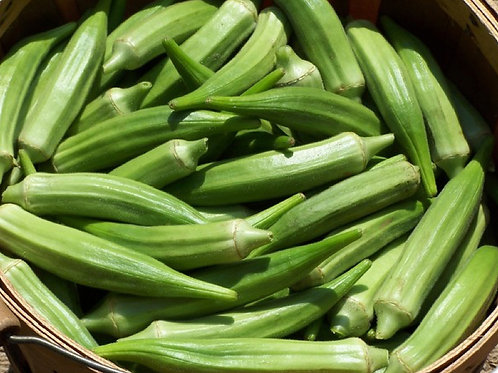 Clemson Spineless Okra - 150 Seeds