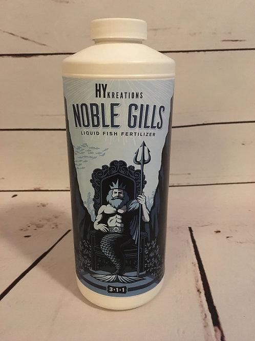 Noble Gills 3-1-1 high quality liquid fish fertilizer 32oz Bottle