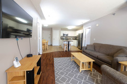 Living Room Layout - Furnished