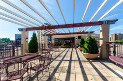 Penthouse Patio and Community Room View