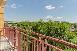 Private Balcony View of Lake Mendota