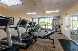 Penthouse Fitness Center Equipment
