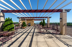 Penthouse Patio View - North