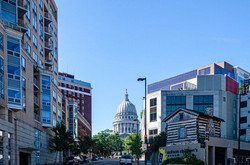 Downtown Capitol View from Hamilton Place