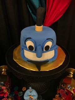 Aladdin - Genie Cake