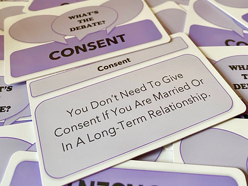 What's The Debate?- Consent