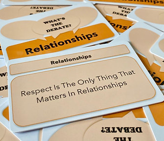 What's The Debate - Relationships