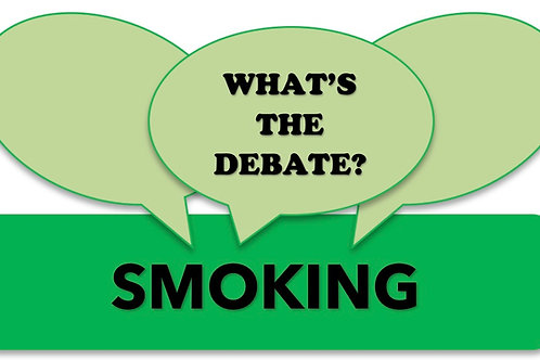 What's The Debate?- Smoking