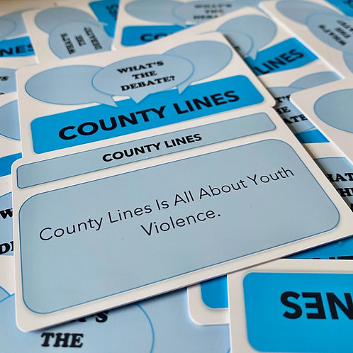 What's The Debate?- County Lines