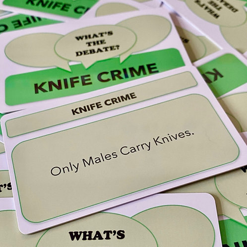 What's The Debate?- Knife Crime