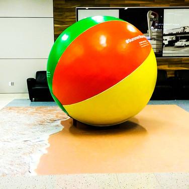 DFW Airport Beach Ball