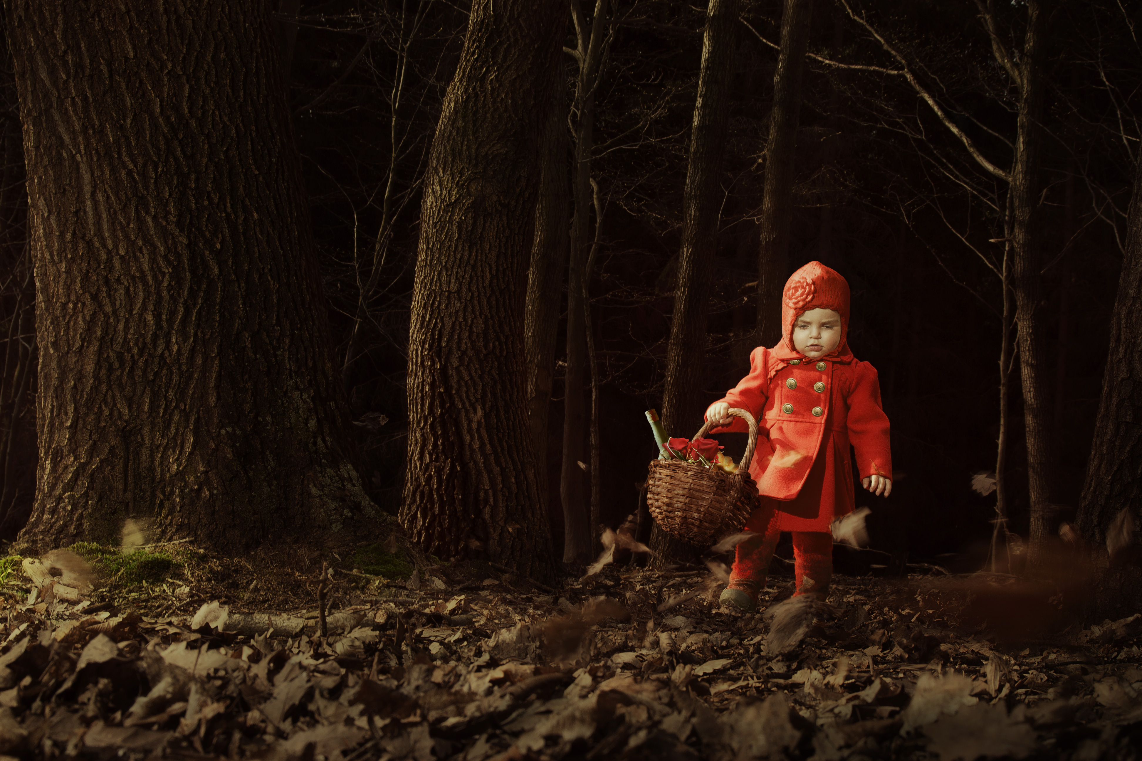 THE RED RIDINGHOOD