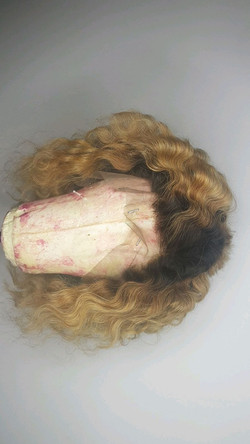 Full Frontal Blonde Wig