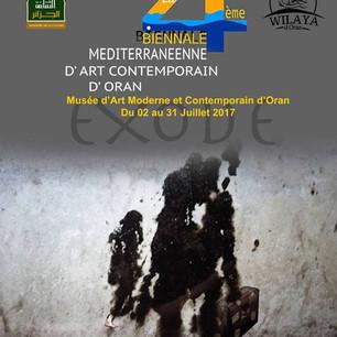 """4ème Biennale Méditerranéenne d'Art Contemporain d'Oran """"Migration & Exode"""""""