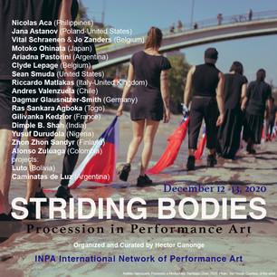 STRIDING BODIES: Procession in Performance Art