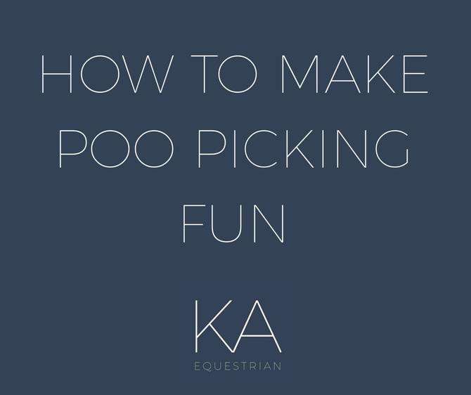 Top Tip Tuesday - How To Make Poo Picking Fun