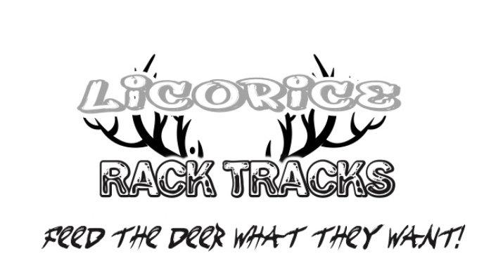 Rack tracks 16% licorice premix with corn 25 lbs