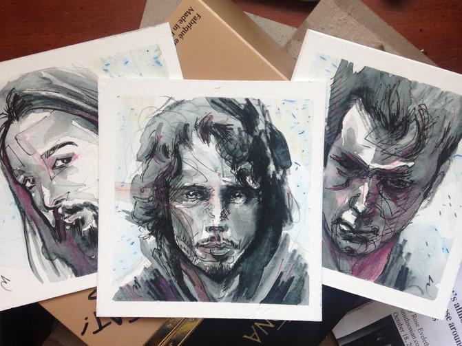 Soundgarden (Kim, Chris, and Ben)