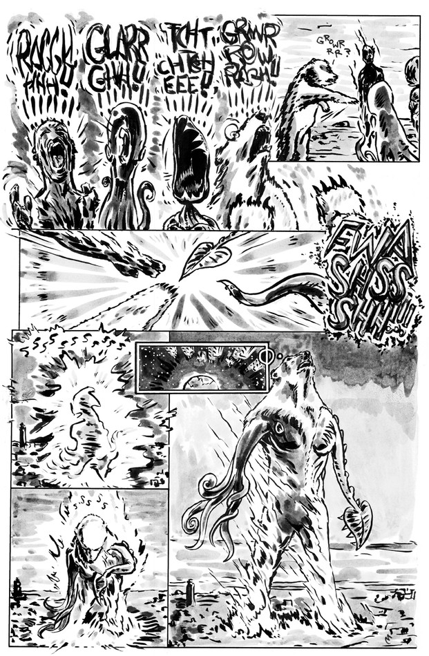 Beware of Earth page #3