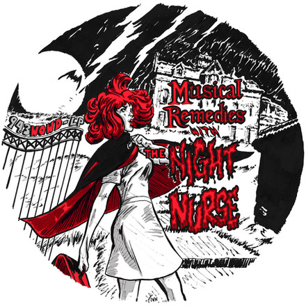 Musical Remedies with the Night Nurse T-Shirt design 2019