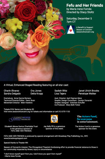 Fefu and Her Friends, Virtual Staged Reading, Season of Concern, Assistant Dirctor to Stacy Stoltz