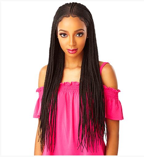 Sensational Lace Front Braid Wig