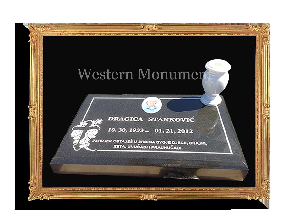 Headstone Phoenix memorial Park