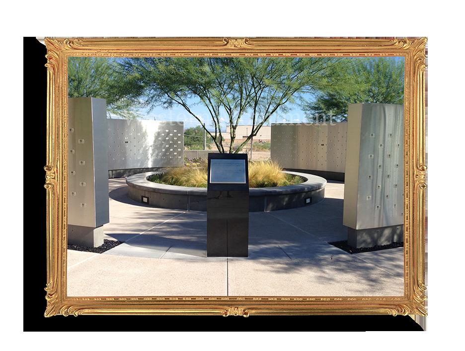 Boeing veterans Memorial,Mesa.