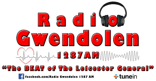 Radio Gwendolen Logo 6 Beat of THE Leice