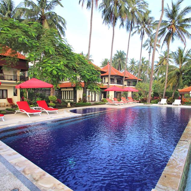 beachfront resort in Bali