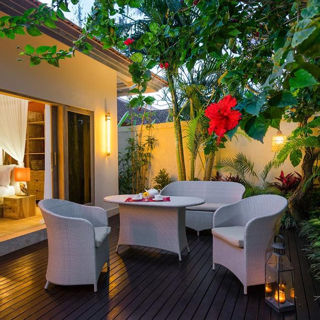 unique villas in Bali