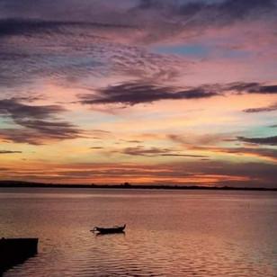 sunset villa in Bali