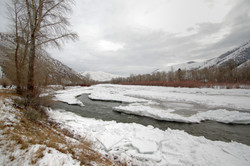 Frozen Snake River